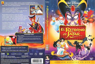 El retorno de Jafar (1994) (Aladín 2) | Caratula | Disney | Cartel