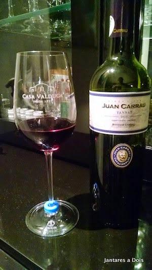 Vinho Uruguaio Tannat