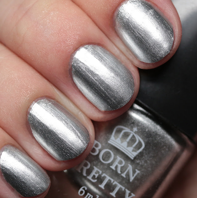 Born Pretty Store Stamping Polish #2 Silver