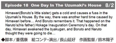 Bocoran Resmi Episode 18 Boruto : Naruto Next Generations