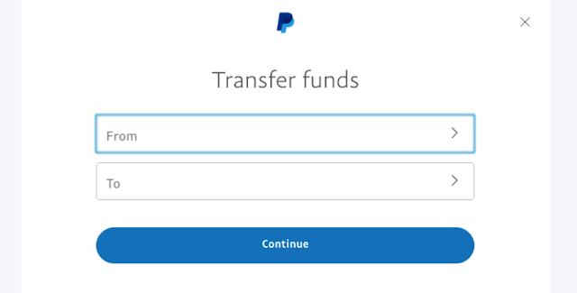 Pilih Rekening Asal dan Tujuan, Transfer Paypal ke Jenius, masbobz.com, transfer dari paypal ke jenius, transfer uang dari paypal ke jenius, cara transfer paypal ke jenius