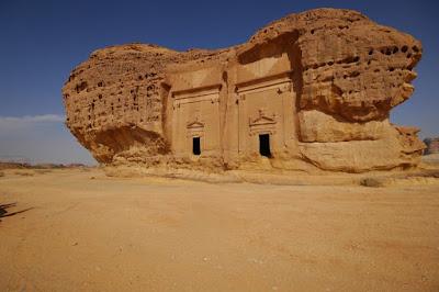 Tempat Wisata Mada'in Saleh