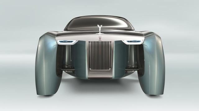 Xe Rolls-Royce trong tương lai