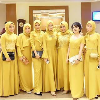 Kebaya Pesta Muslim