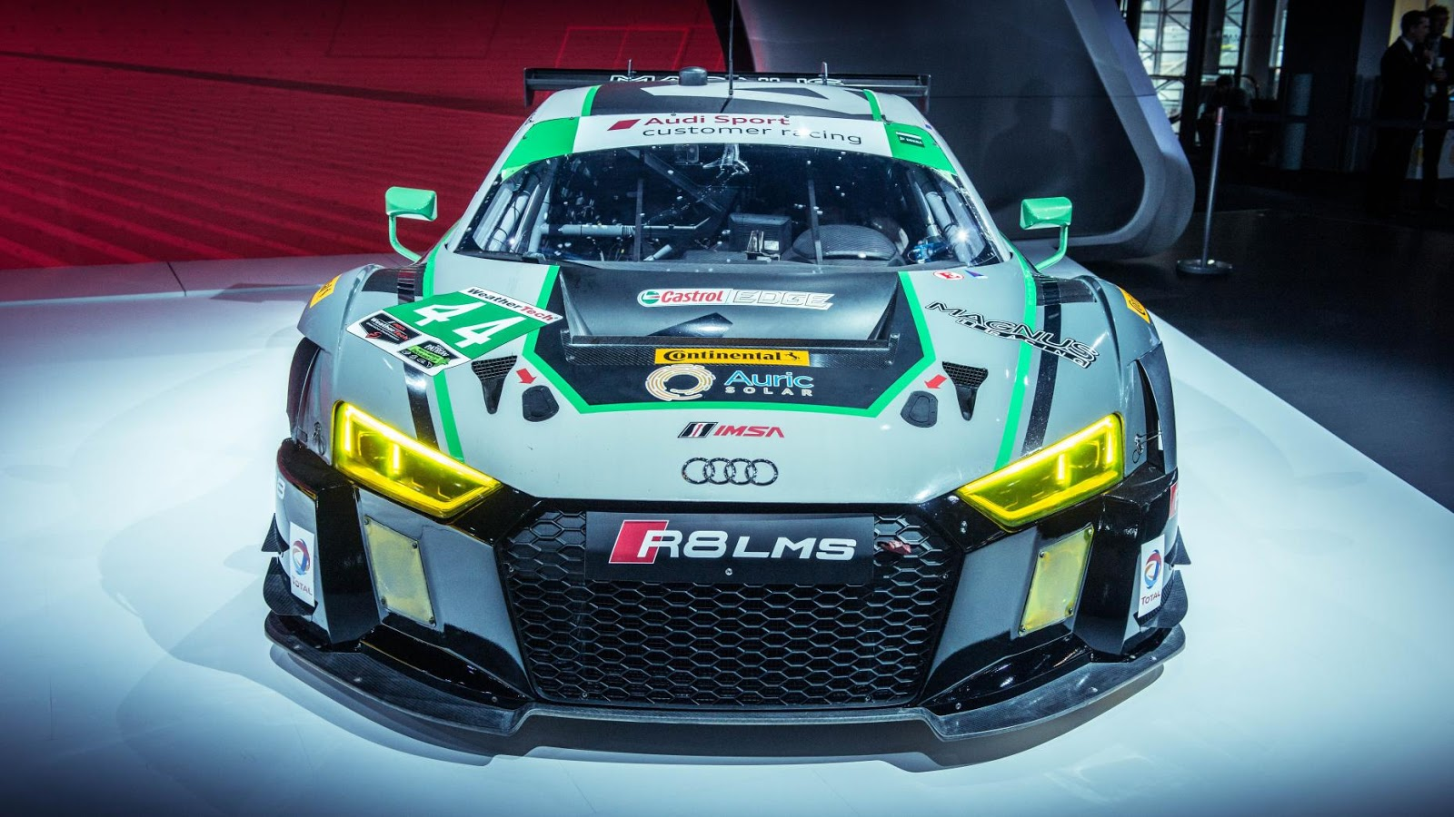 No. 44 Magnus Racing Audi R8 LMS GT3