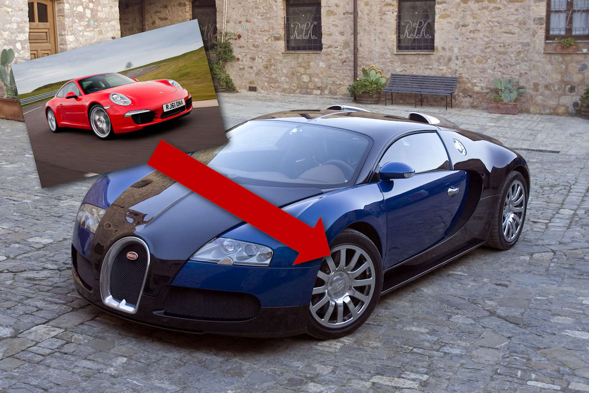 This Guy's Selling A Set Of Bugatti Wheels And Tires For
