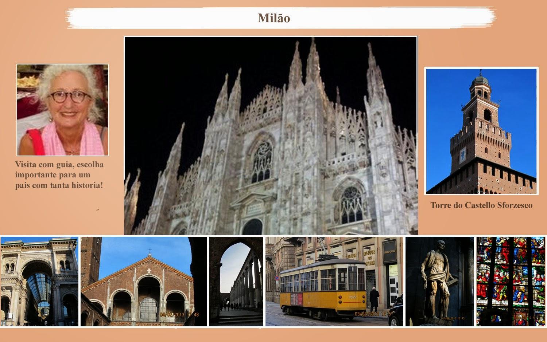 Guia de Turismo: visite Milao com guia de turismo em Portugues