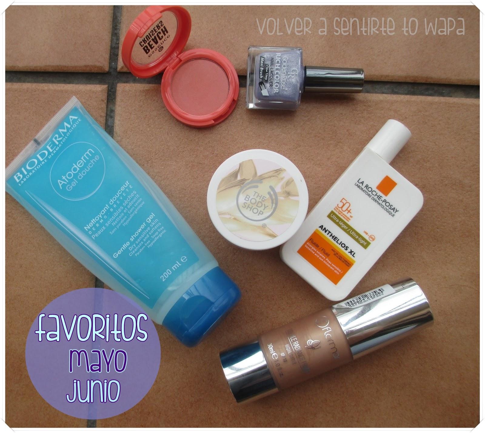 Favoritos de cosmética - Volver a Sentirte to Wapa