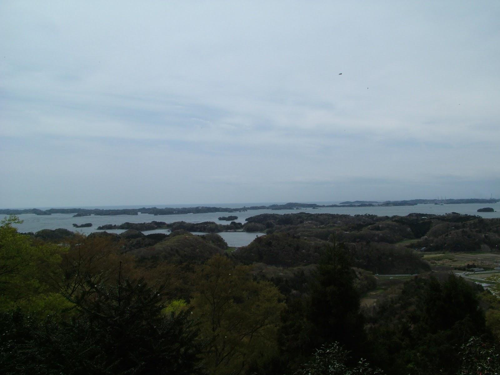 松島の四大観の麗観・富山