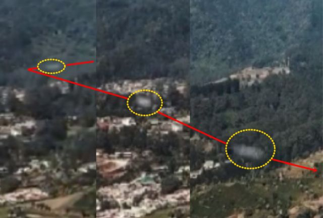 UFO News ~ High Speed UFO makes 90 degrees turn over Doi Ang Khang, Thailand plus MORE UFO%2BFastwalker