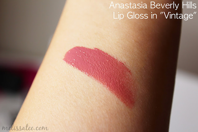 sephora favorites, sephora favorites give me more lip, sephora favorites give me more lip 2017, sephora favorites give me more lip 2017 review, sephora favorites give me more lip review and swatches, anastasia beverly hills, anastasia beverly hills lip gloss, anastasia beverly hills vintage lip gloss, anastasia beverly hills vintage lip gloss swatches