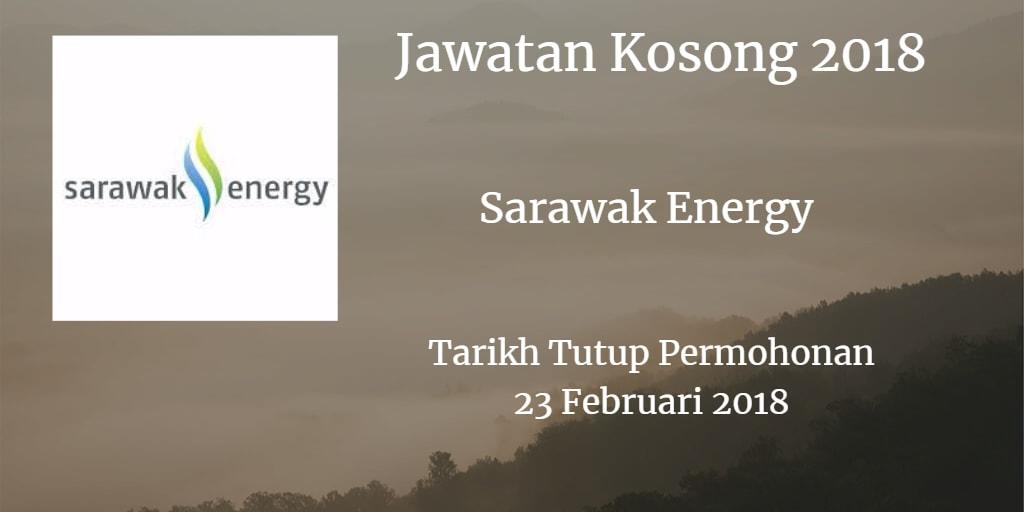 Jawatan Kosong Sarawak Energy 23 Februari 2018