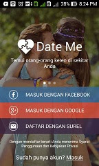 buat akun date me