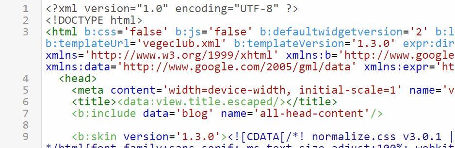 Blogger otomatik eklenen stil ve javascript kodlarini kapatmak