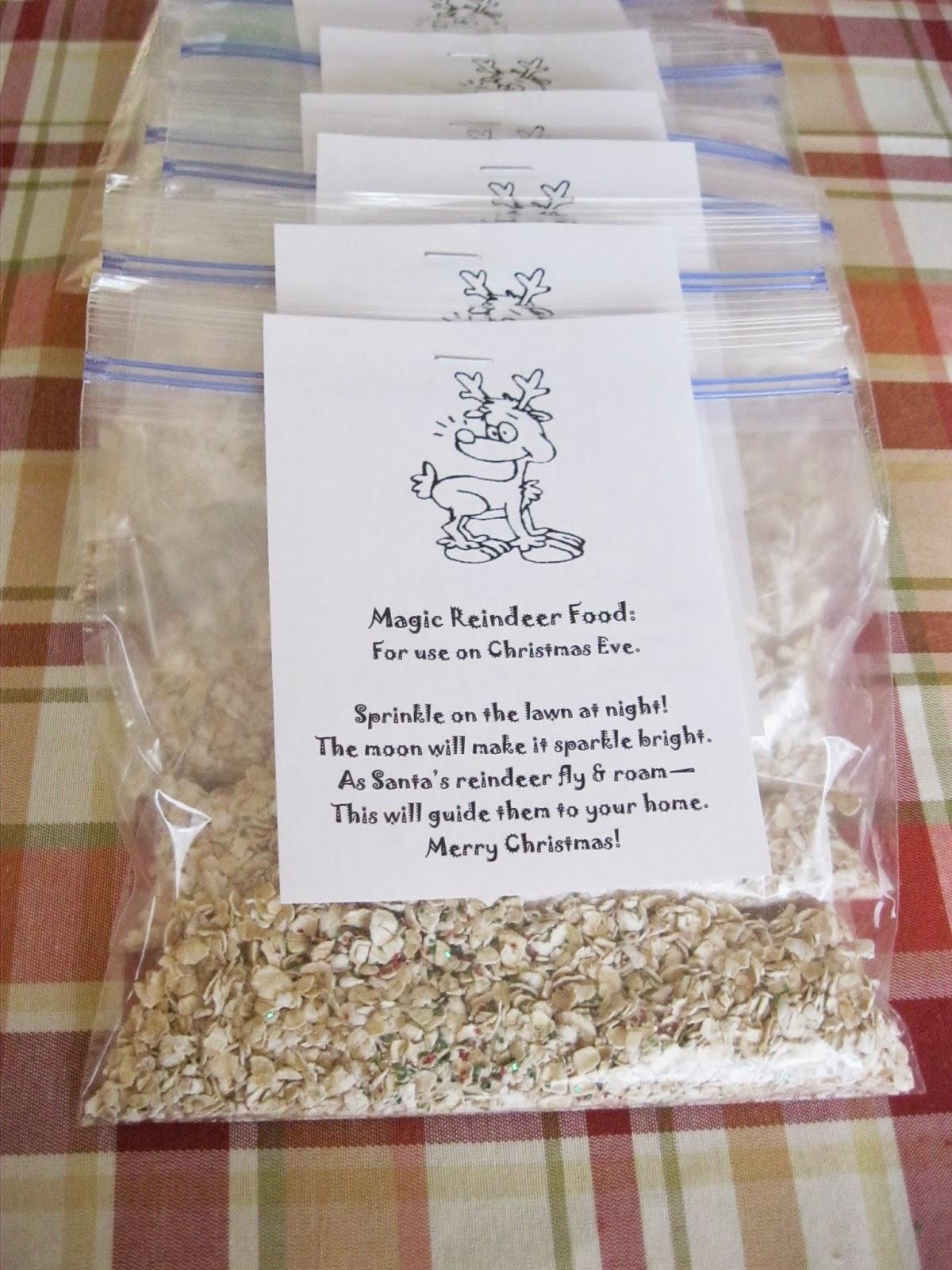 A Handful Of Everything Magic Reindeer Food