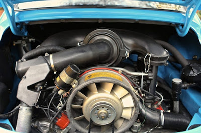 1974 Porsche 911 Carrera RS Lord Mexborough Engine 01