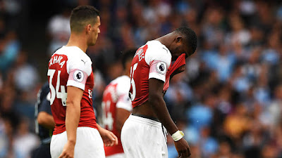 Ainsley Maitland-Niles crying