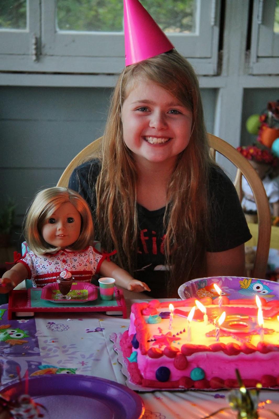 American Girl Doll Play An American Girl Birthday Party