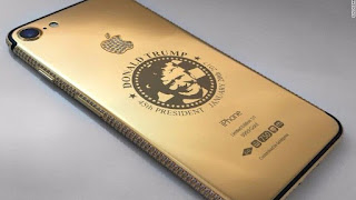 Gold-plated Trump iPhone now released for the rich iPhone Users