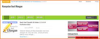 Download Soal UH Biologi SMA Kelas 12 Bab Metabolisme Semester 1  terbaru KTSP