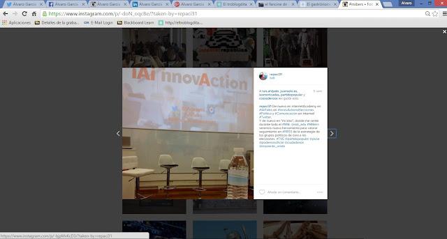 MIBer - MIBers - el MIB en imágenes: Twitter - ISDI - Álvaro García - ÁlvaroGP - Social Media & SEO - internetAcademi - iAi - innovactionelecciones - Publicado en Instagram