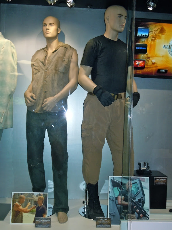 Fast and Furious movie costume display