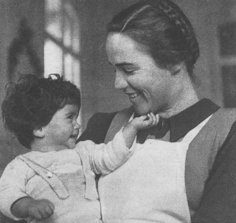 Mercedes San Jose >> Hogar infantil de Burjassot (Villa de San José): una obra de mujeres. 'Los niños de la guerra ...