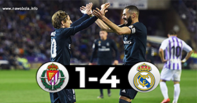 real madrid menang 4-1