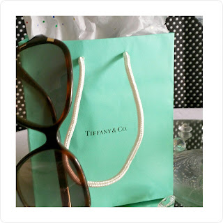 tiffany & co bag with coach sunglasses