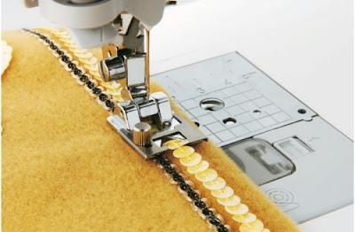 Πόδι ραπτομηχανής 3D-τρισδιάστατες ραφές