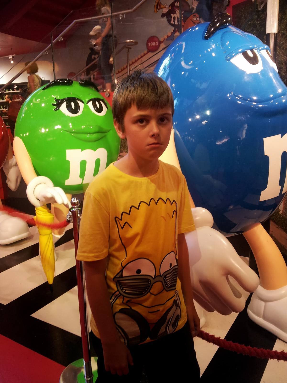 Oh Yummy Chocolate: M & M World Store, London