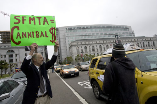 SF Taxi Media: Money Makes Things Happen  And It Takes Money