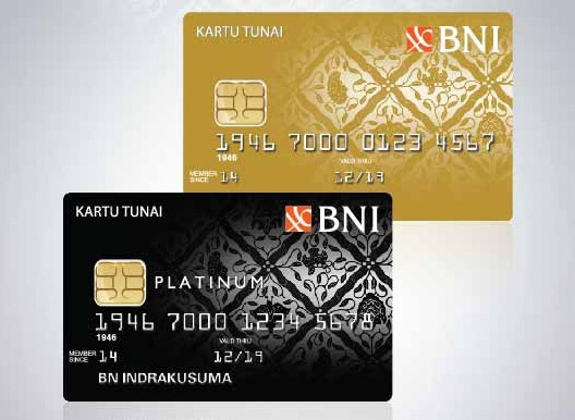 Kartu Tunai Bni Kartu Kredit Khusus Tunai Produk Baru Dari Bni