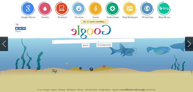 Google Underwater Tricks