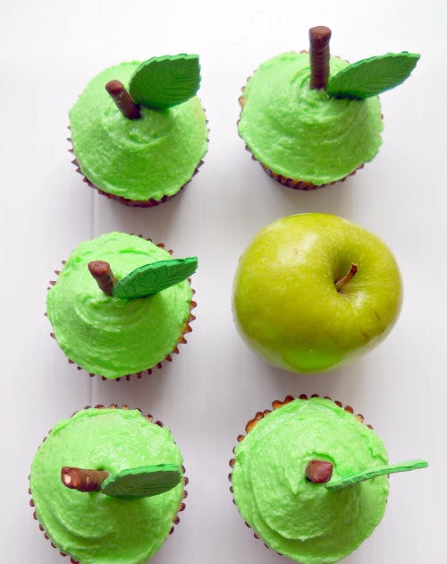 Sweet Tidings Granny Smith Apple Cupcakes