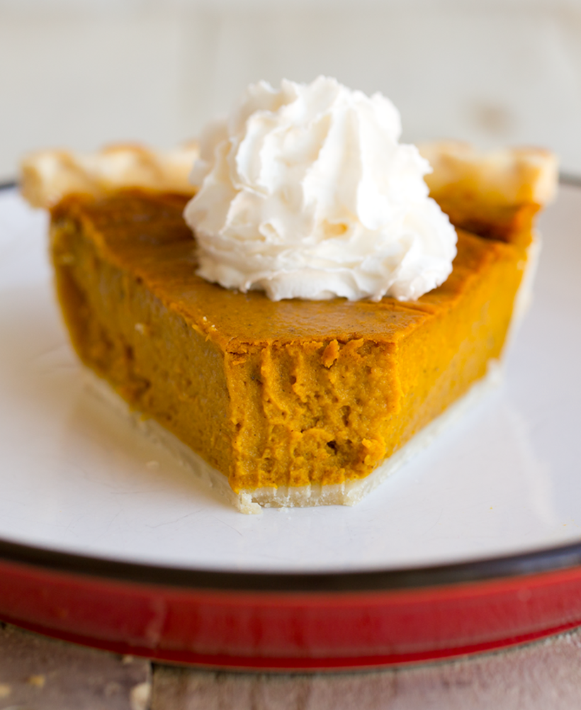 Simple Vegan Pumpkin Pie