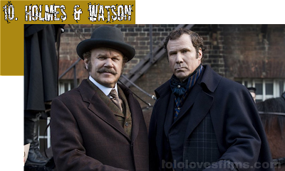 Holmes and Watson 2018 movie Will Ferrell John C. Reilly