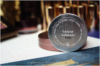 HARPER recensione Blush Blossom   goldust collection Nabla cosmetics