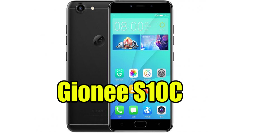 Gionee S10C Official Flash File