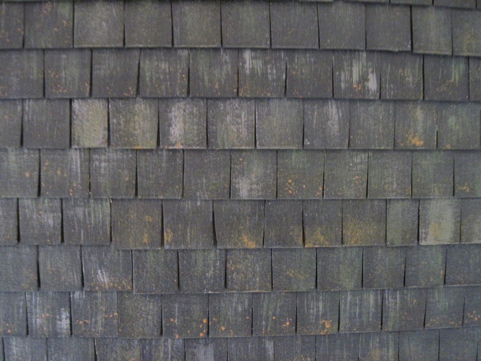 pulchinella's cellar miniatures: Slate Roof Made from ...