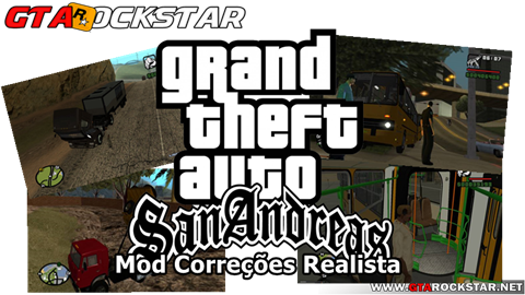 Mod Correções Realista para GTA San Andreas V3.0 mod realismo Mod Correções Realista para GTA San Andreas Melhorias para GTA SA GTA San Andreas realista mod