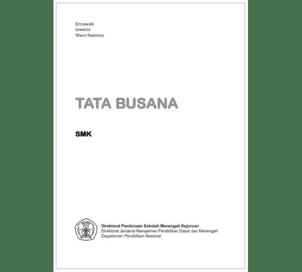 Buku SMK Tata Busana