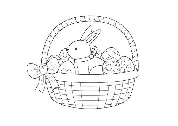 El mundo Seredipity: Conejitos de Pascua para Colorear