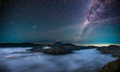bromo star light milky way dari Pananjakan by Franciscus Tan