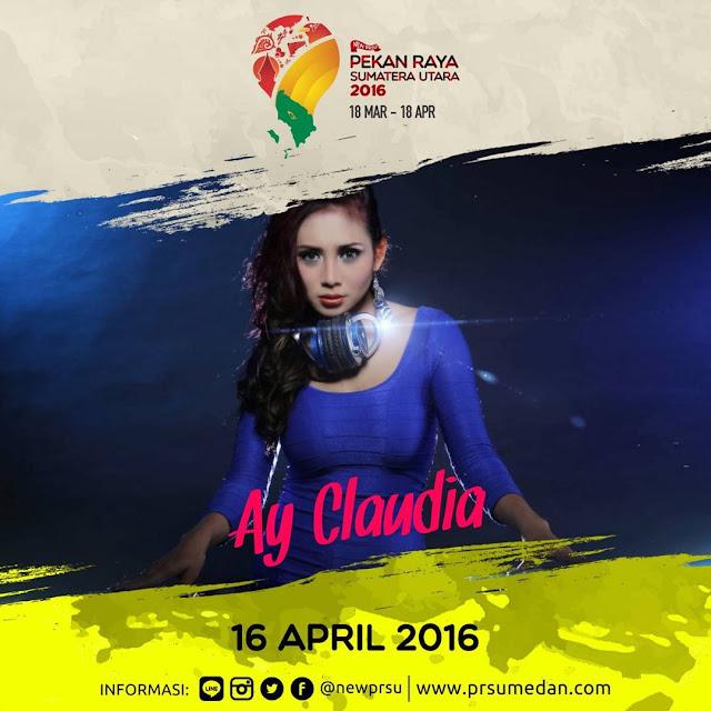 Penampilan DJ Ay Claudia - 16 April 2016 di Pekan Raya Sumatera Utara