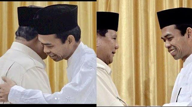 Pemilih Jokowi akan Beralih ke Prabowo Setelah Lihat Video UAS
