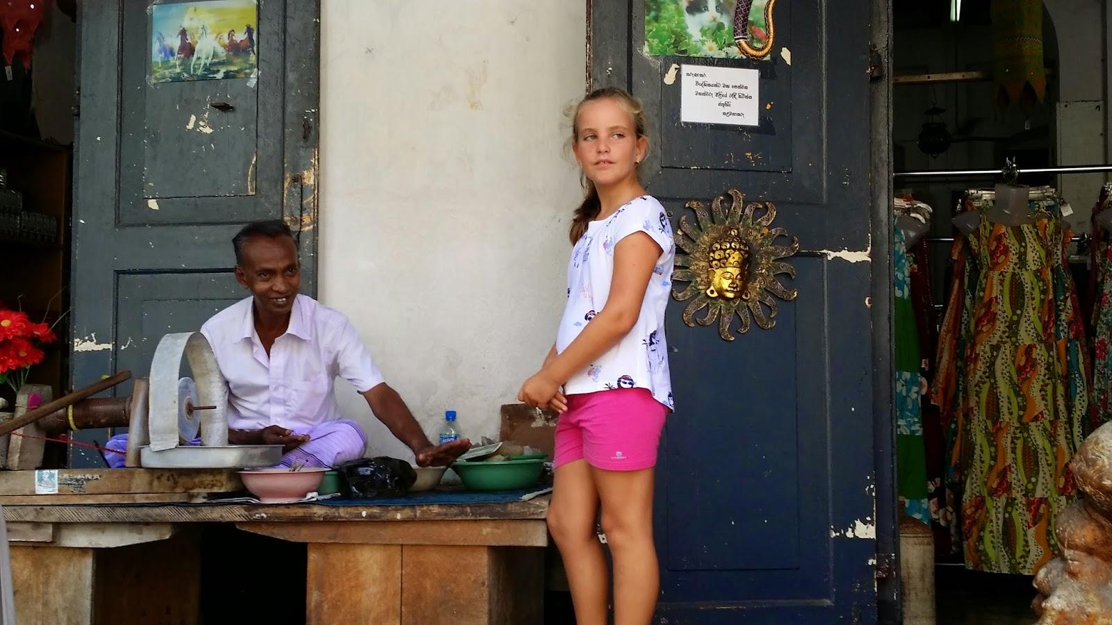 Tienda de souvenirs en Galle (Sri Lanka)