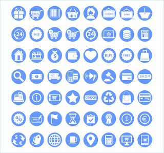 download 50 icon desain gratis