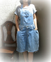 denim jeans apron