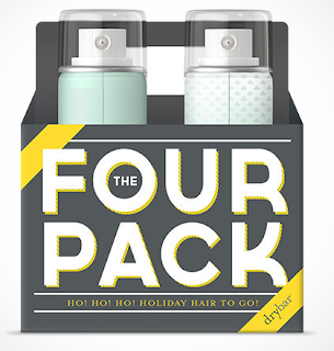Four Pack Holiday Hair